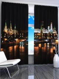 Фотошторы «Ночной Кремль»