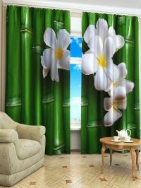 Фотошторы «Зеленый бамбук»