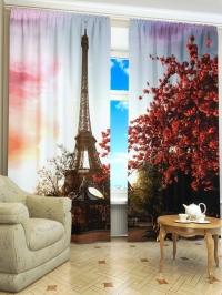 Фотошторы «Весенний Париж»