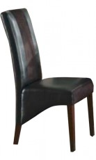 Набор стульев 2548BL черный (2 шт.)