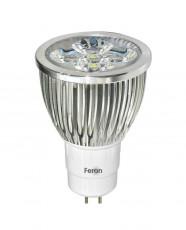Лампа светодиодная GU5.3 230В 5Вт 6400K LB-108 25193