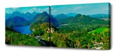 Набор из 2 панно (150х50 см) Зов гор D-102H