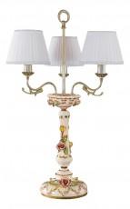 Настольная лампа декоративная 1206 TLG 1206/3.26 Ceramic Madreperla