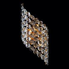 Накладной светильник 3106/3 золото/прозрачный хрусталь Strotskis
