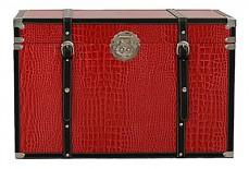 Сундук 2557L красный