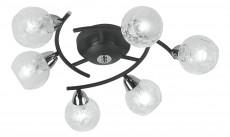 Потолочная люстра 382/6PF-Blackchrome