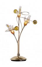 Настольная лампа декоративная Amber 1458/3T