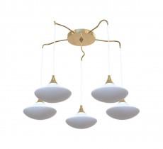 Подвесной светильник 8001/5S Gold/White