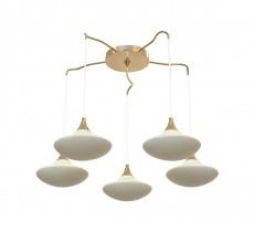 Подвесной светильник 8001/5S Gold/Cream