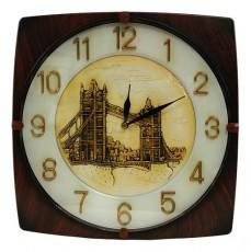 Настенные часы (33.5х33.5 см) 8044