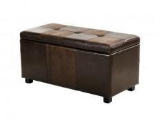 Банкетка с ящиком для хранения 2552BL коричневая