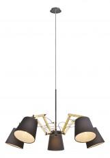 Подвесная люстра Pinocchio A5700LM-5BK