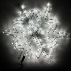 Панно световое (53 см) Снежинка 26955