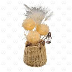 Настольная лампа декоративная Ротанг 9 376033803