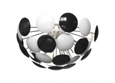 Потолочная люстра 3027/6PL Black/White