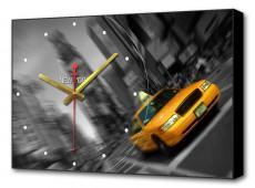 Настенные часы (60х37 см) Такси BL-2100