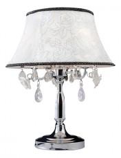 Настольная лампа декоративная 3145/3T хром/прозрачный