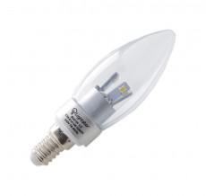Лампа светодиодная E14 230В 3Вт 4000K 924734