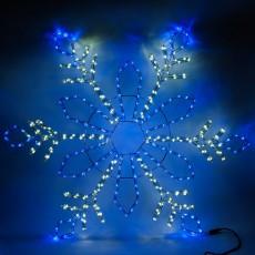 Панно световое (1.2 м) Снежинка 26954