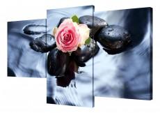 Набор из 3 панно (78х50 см)Цветы и камни BT XH-212
