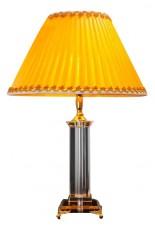 Настольная лампа декоративная 3192/1T прозрачный/желтый