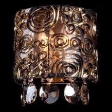 Накладной светильник 3400/2 золото/тонированный хрусталь Strotskis