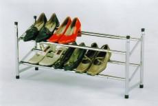 Стеллаж для обуви А 1238 хром