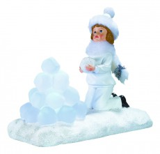 Снегурочка световая (14см) SOLBO SL700155
