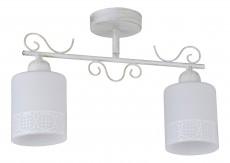 Светильник на штанге 848 848/2PF-Whitepatina