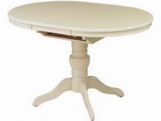 Стол обеденный 2437С молочно-белый