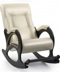 Кресло-качалка М44ОрПерл106