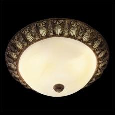 Накладной светильник 7170/4 коричневый/желтый