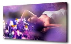 Панно (100х50 см) Фиолетовые сны G-1019H