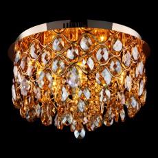 Потолочная люстра 3322/6L золото/тонированный хрусталь Strotskis