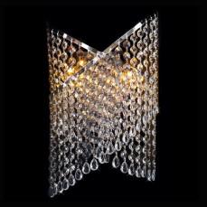 Накладной светильник 3105/3 хром/прозрачный хрусталь Strotskis