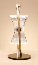 Настольная лампа декоративная Krom Cuero 0875