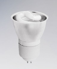 Лампа компактная люминесцентная G5.3 9W 4000K (MR16) 928124