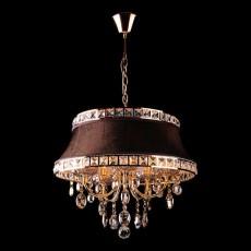 Подвесной светильник 3271/5 зол.тонированный/коричневый Strotskis