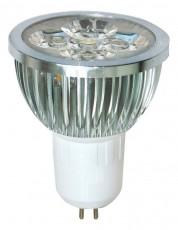 Лампа светодиодная GU5.3 230В 4Вт 6400K LB-14 25170