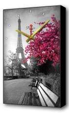 Настенные часы (37х60 см) Осенний Париж Bl-2105