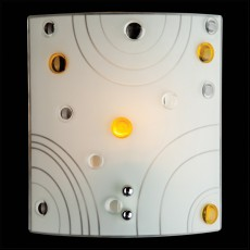 Накладной светильник 3738/1 хром