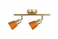 Спот 5046/2PA Gold/Orange