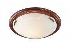 Накладной светильник Greca Wood 160