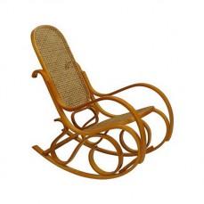 Кресло-качалка 1807 L дуб светлый/коричневый