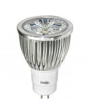 Лампа светодиодная GU5.3 230В 5Вт 4000K LB-108 25192