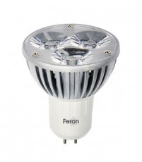 Лампа светодиодная GU5.3 230В 3Вт 6400K LB-112 25188