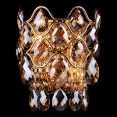 Накладной светильник 3322/2 золото/тонированный хрусталь Strotskis