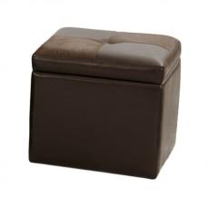 Банкетка с ящиком для хранения 2552BS коричневая
