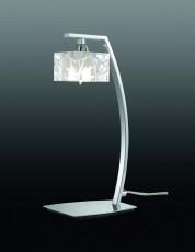 Настольная лампа декоративная Zen Chrome 1427