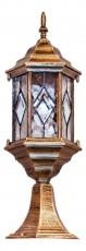 Наземный низкий светильник Витраж с ромбом 11346
